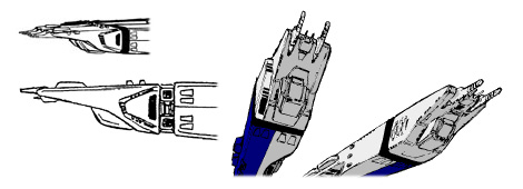 SDF-1 Main Gun Tip Artwork