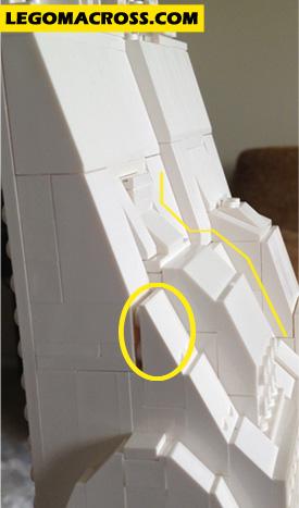 LEGO SDF-1 Main Gun Problem Section