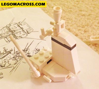 LEGO SDF-1 Bridge