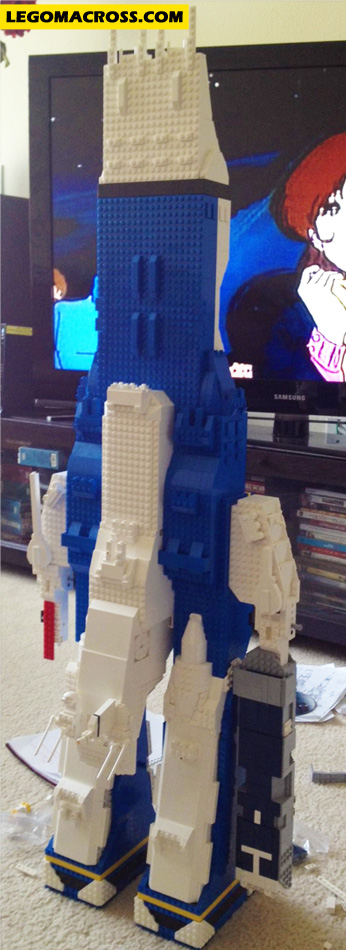 LEGO SDF-1 In Progress