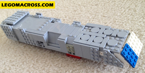 LEGO SDF-1 Daedalus Start