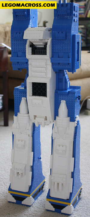 SDF-1 Back (After Transformation)