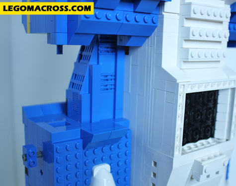 LEGO SDF1 Back